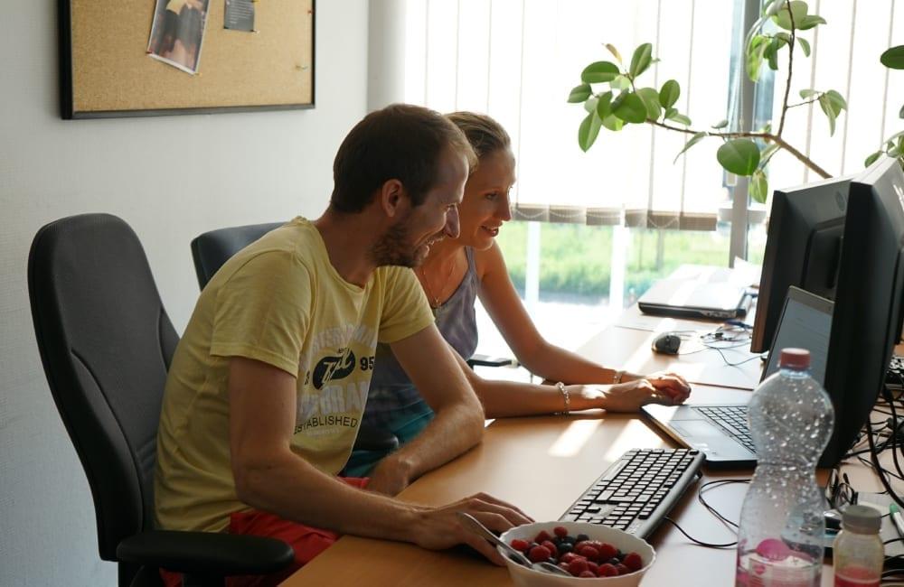 Itware csoportkép kollégákról